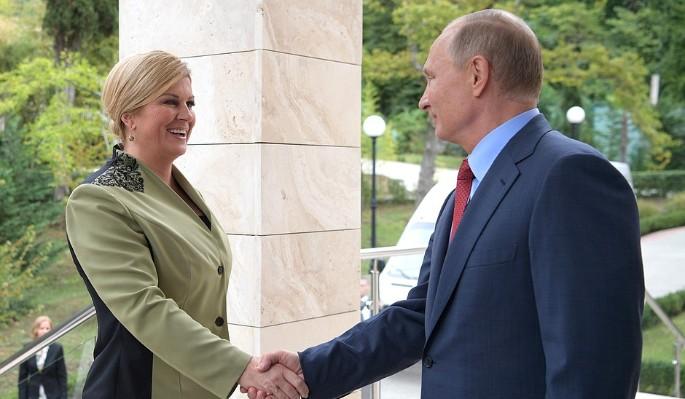 Путин открыл тайну встречи с красоткой-президентом