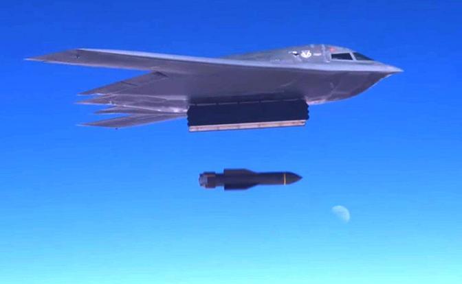 «Матери всех бомб»: Чьи удар…