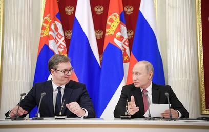 """Путин: Сербия может быть подключена к """"Турецкому потоку"""""""