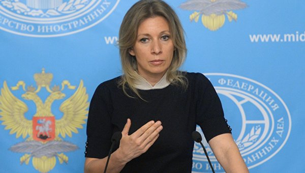 "Захарова ответила на предложение отправлять в гетто украинцев с ""низким IQ"""