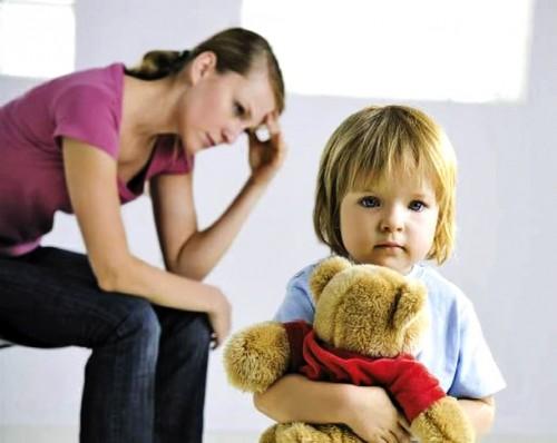 Думают ли женщины после развода о детях?