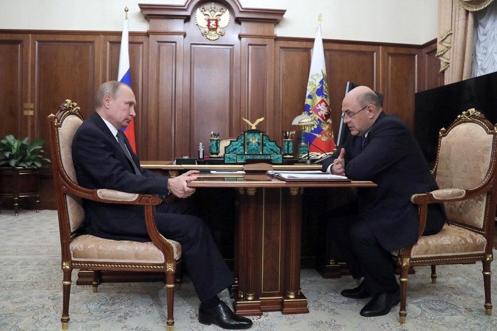 """Путин проверил ход """"кассовой"""" реформы"""