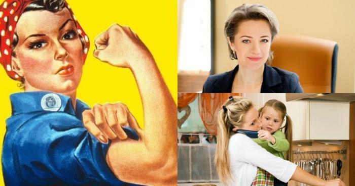 Немцы назвали российских женщин «сильным полом» (6 фото)