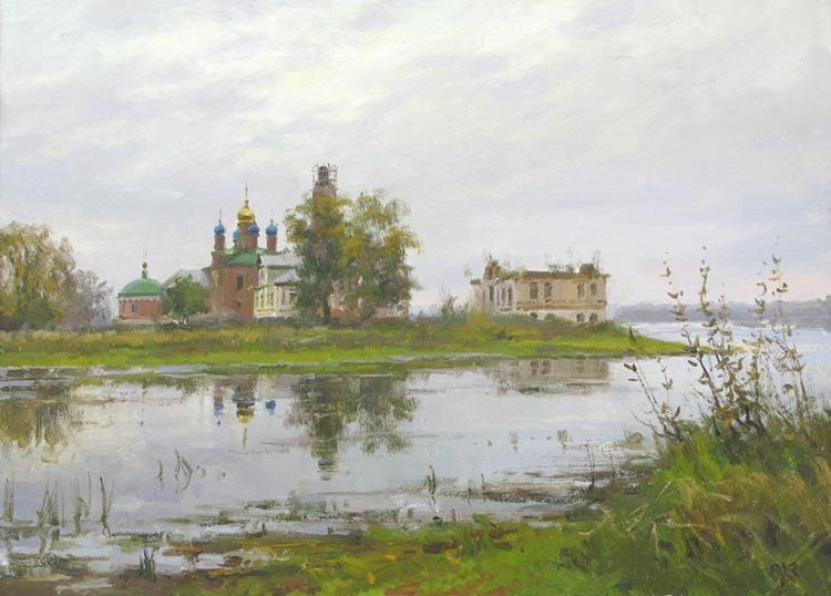 В двух шагах от суеты. Художник Алексей Ефремов