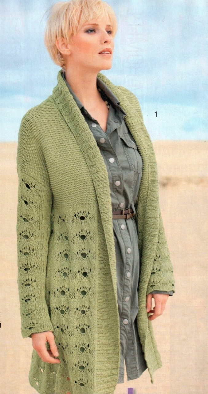 Вязание кардиганы пальто жакеты