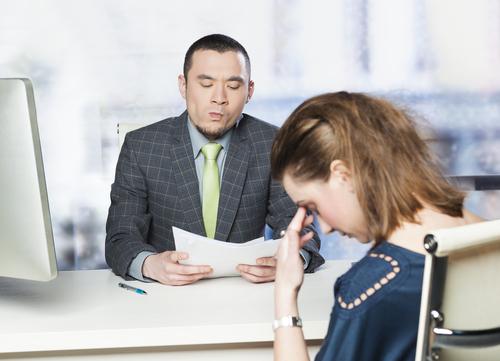 5 фраз, за которые вас не возьмут на работу