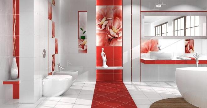 Отделочные материалы для ванной комнаты - обзор современных вариантов
