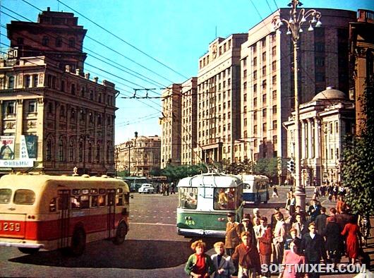 Москва 1959 года в цвете