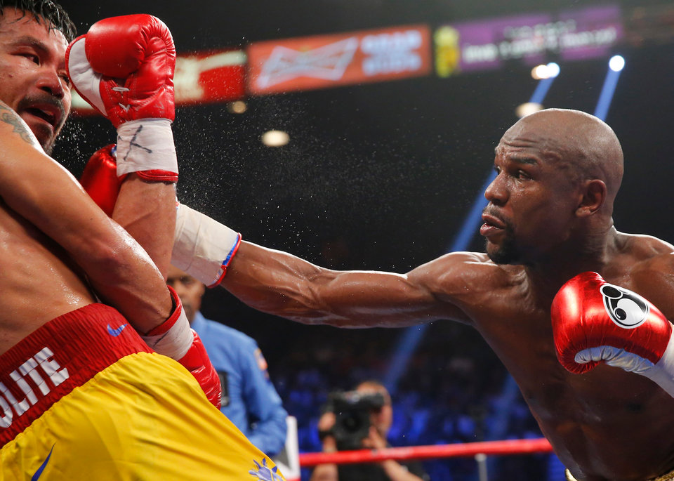 Как питается чемпион мира по боксу Флойд Мейвезер
