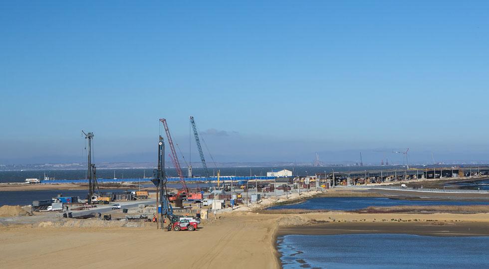 Завершён очередной этап строительства Крымского моста
