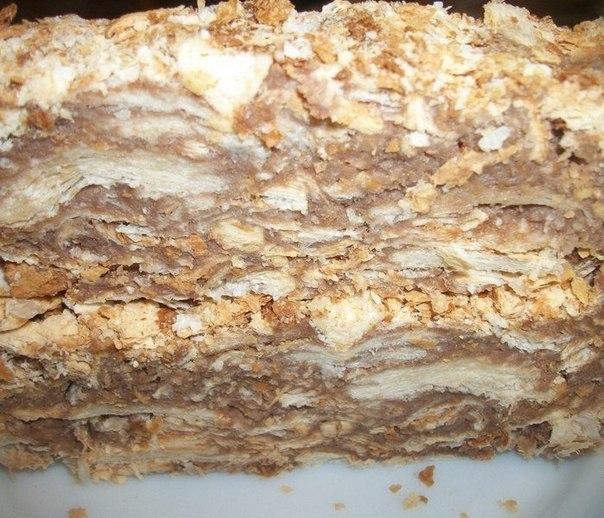 Оригинальный торт «Наполеон» всего за пол часа