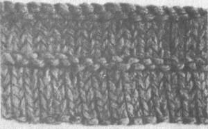 Особенности вязания края изделия и углов полочек, воротников