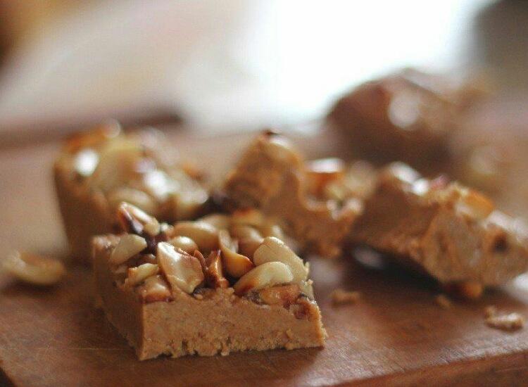 Божественно вкусные карамельные конфеты с арахисом
