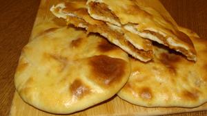 Фото к рецепту: Лепёшки с яблоком и тыквой. Настолько вкусные, что их всегда мало.
