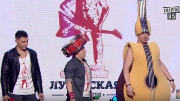 Разрывное выступление Кошевого и «Луганской сборной» из последнего выпуска «Лиги Смеха»!