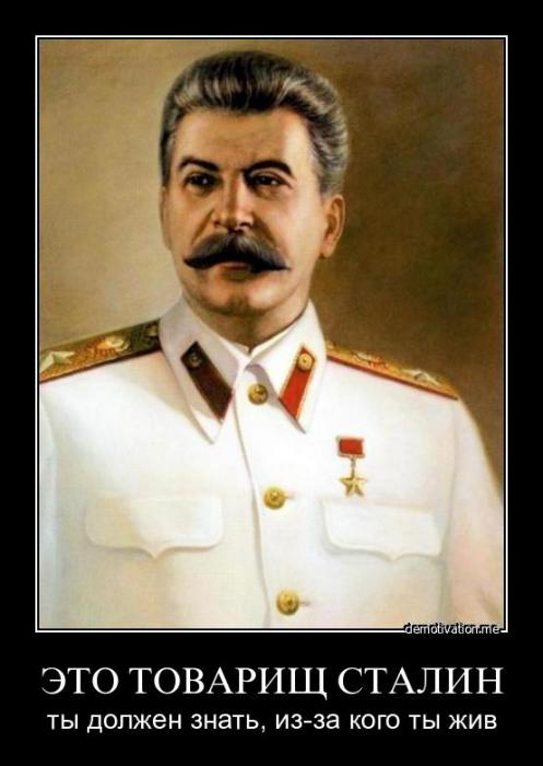 Зачем очерняют Сталина и его эпоху ?