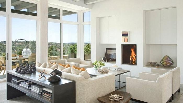 Черно-белое сочетание в оформлении интерьера комнат - это самый лучший вариант для создания ярких впечатлений и интересного настроения.