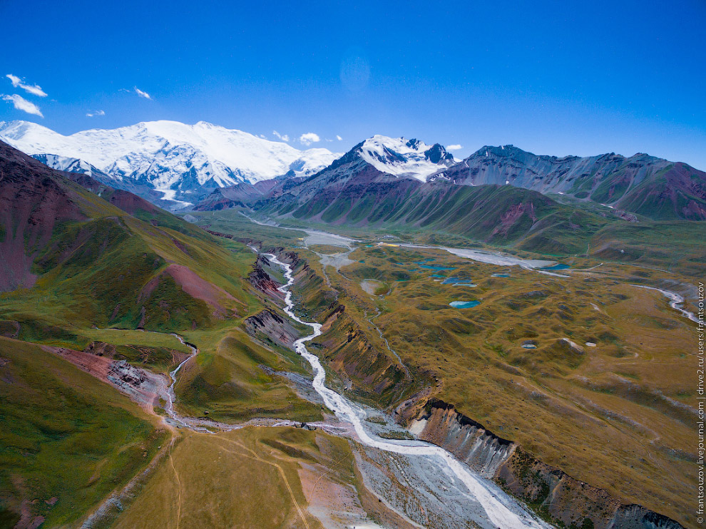 Киргизия с высоты