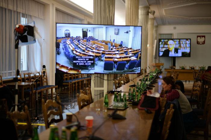 Правительственное заседание в Польше