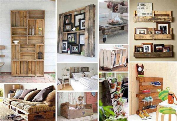 30 оригинальных идей использования деревянных поддонов в быту