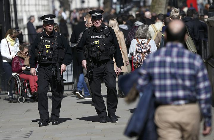 В Лондоне во время рейда арестовали четырех подозреваемых в терроризме