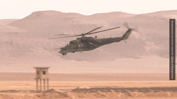 Военные пилоты РФ отработали уничтожение боевиков в Таджикистане