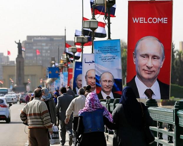 Египетские СМИ обратились к Путину на русском