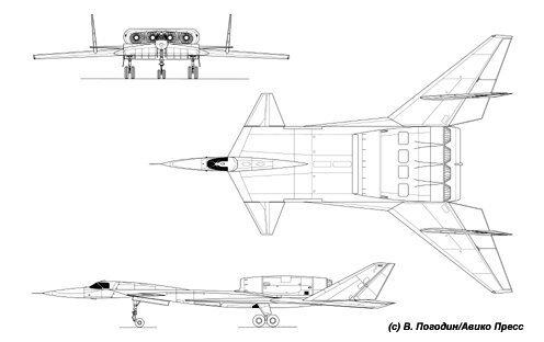 Варианты штурмовика специального назначения М-25 «Адский косильщик» КБ Мясищева, М-25, проект, ударная волна, штурмовик