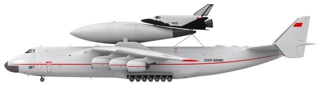 Разработка авиационно-космических систем (АКС) на базе самолета Ан-225