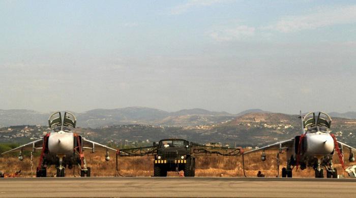 Российские военные применили средства С-400 для защиты авиабазы Хмеймим
