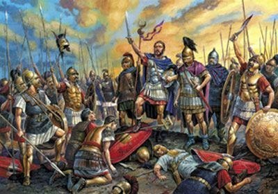 Кровавая битва при Каннах...