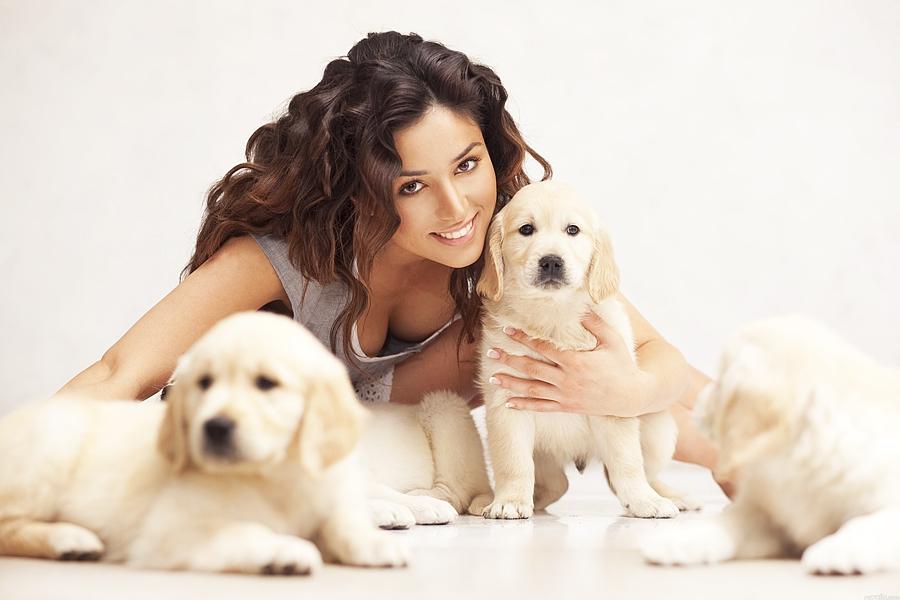 Переехали всей семьёй в Киев - я, муж и собака...