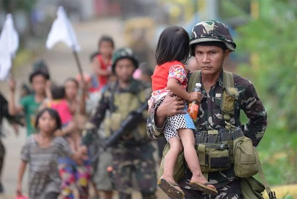 МО Филиппин: В составе ИГИЛ на юге страны воюют чеченцы