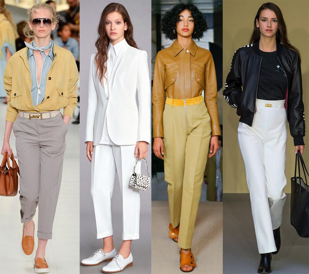 Модные женские брюки 2018 — обзор модных коллекций