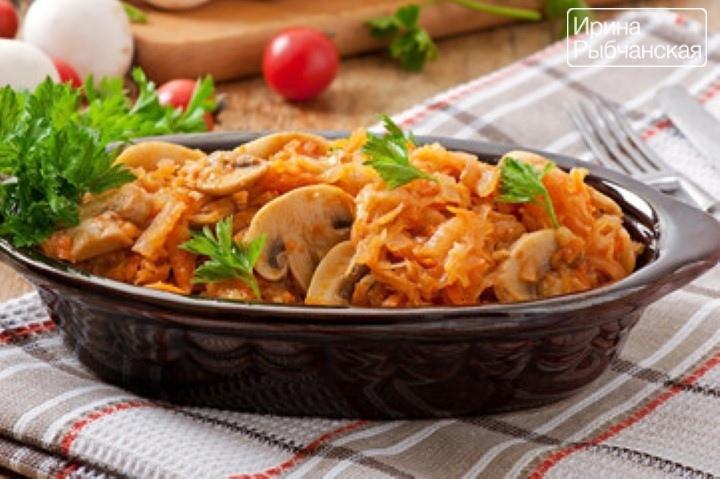 Солянка грибная на зиму с капустой — вкусные безопасные рецепты