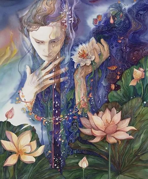 художник Хелен Нельсон-Рид (Helen Nelson-Reed) картины – 08
