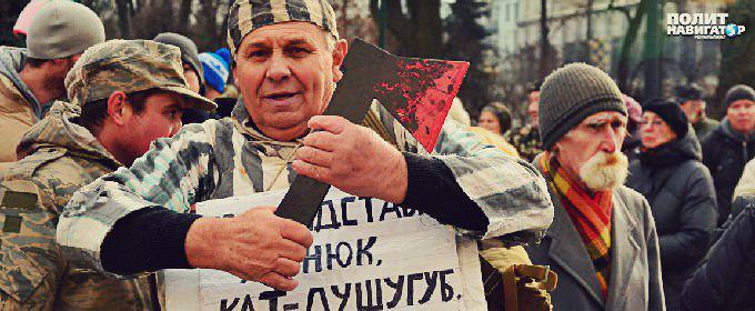 Украинская шизофрения закончится в следующем году