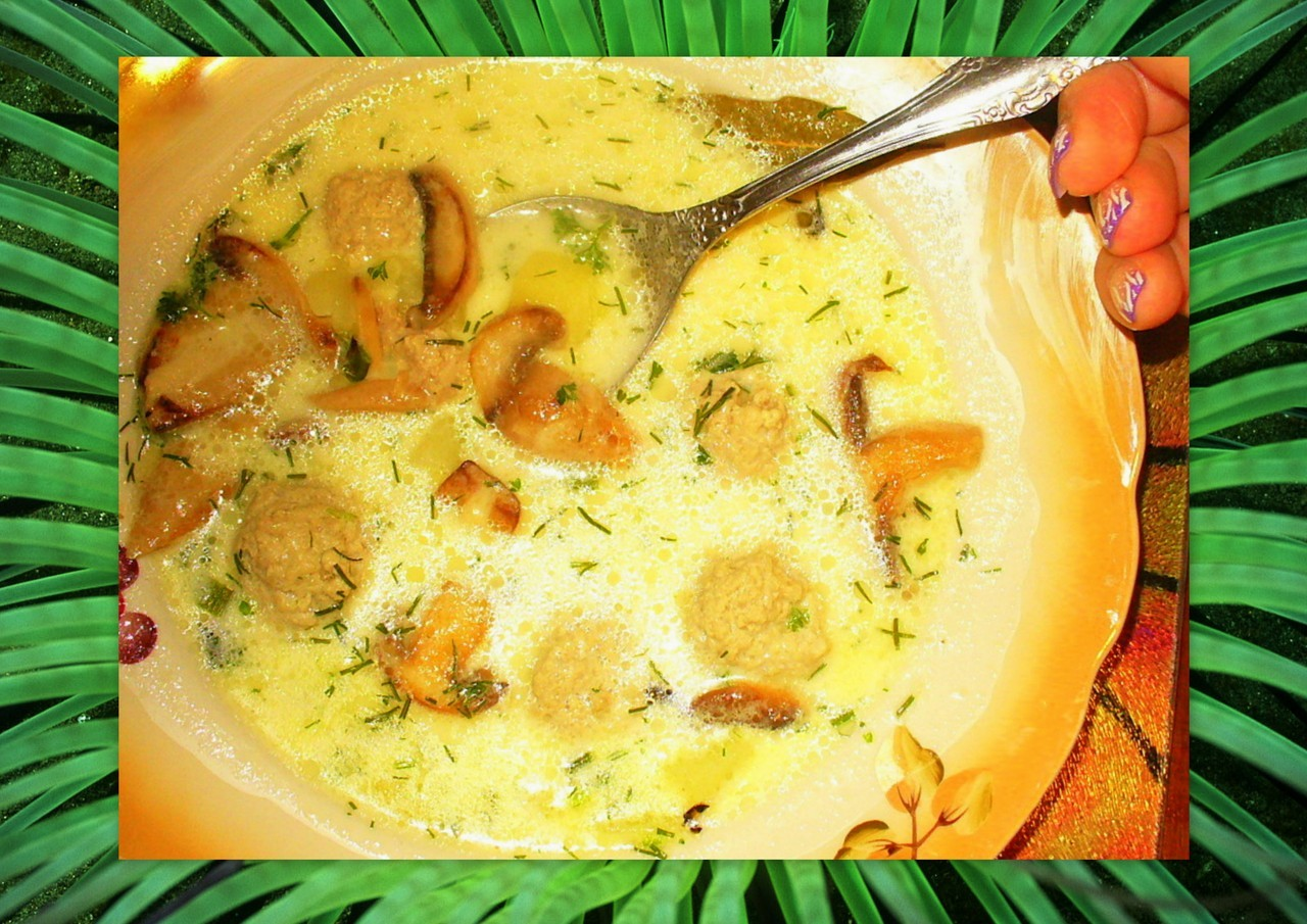 Сырный суп( Немецкий рецепт )