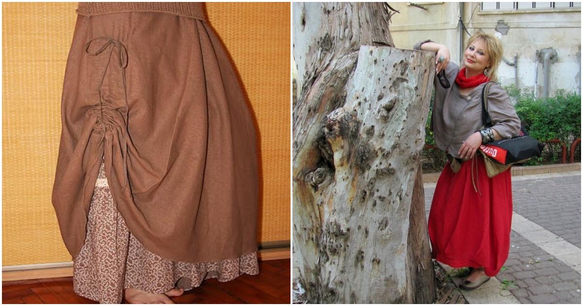 Юбки бохо — идеальный выбор для женщин с пышными формами