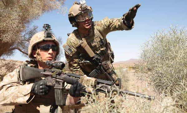 Сирийская Армия уничтожила британского снайпера и спецназ США