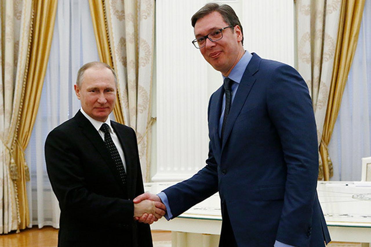 Вучич поблагодарил Путина и …