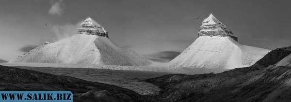 """Гора """"Пирамида"""" на Шпицбергене. Или все-таки не гора?"""