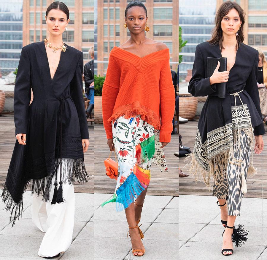 Образы в стиле бохо-шик с модных подиумов 2019