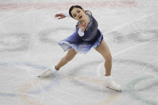Фигуристка Медведева стала самой обсуждаемой персоной во время Олимпиады