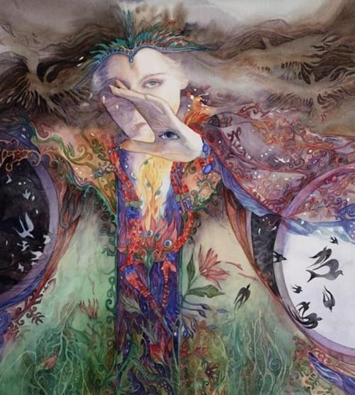 художник Хелен Нельсон-Рид (Helen Nelson-Reed) картины – 06