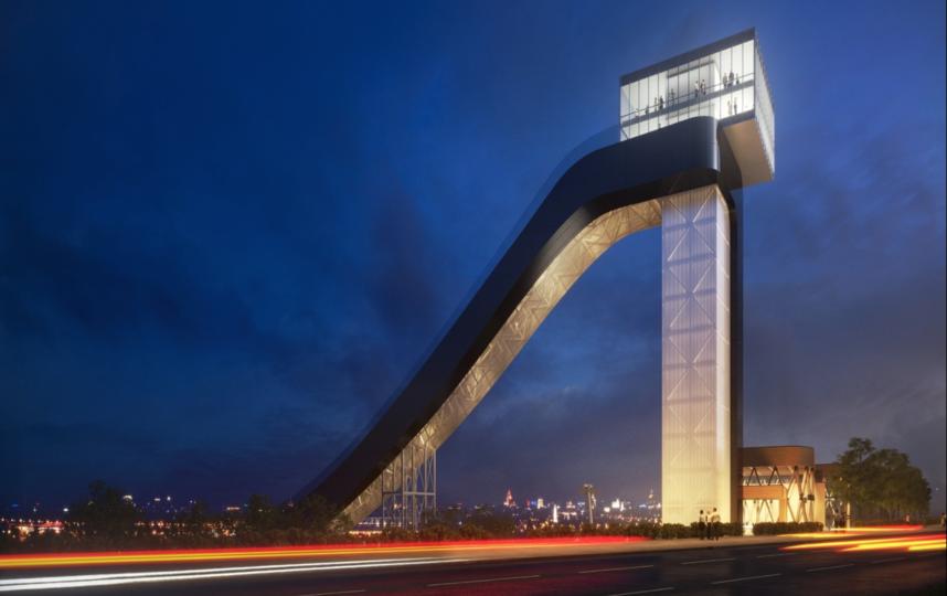 В Москве на Воробьёвых горах появится ещё одна смотровая площадка