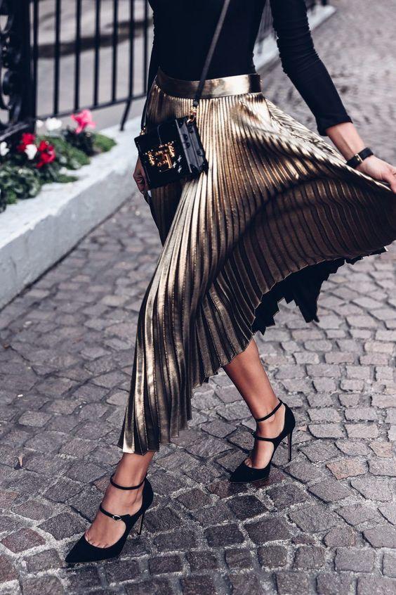 Юбка-плиссе – модный хит 2018: как носить ее стильно