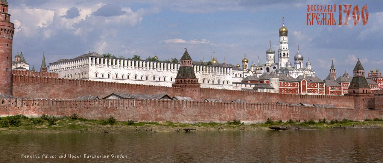 Московский Кремль - графическая реконструкция
