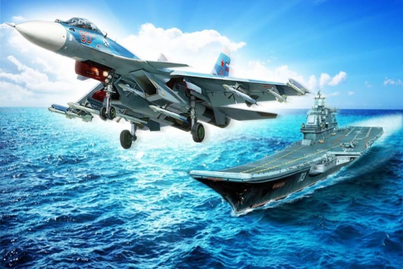 Нужны ли России авианосцы? Взгляд под сирийским углом