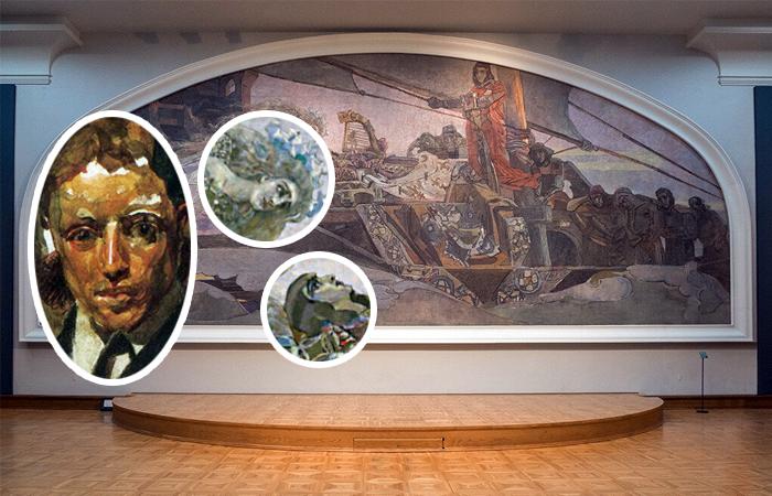 Савва Мамонтов в кругу художников